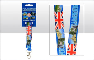 Cambridge Landmarks Union Jack Lanyard