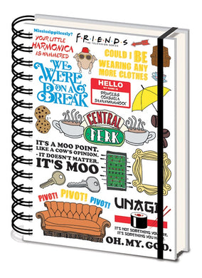 FRIENDS A5 Infographic Notebook