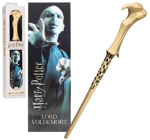Lord Voldemort 30cm Wand with Prismatic Bookmark