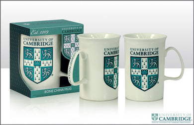 CU College Blue Shield Bone China Mug