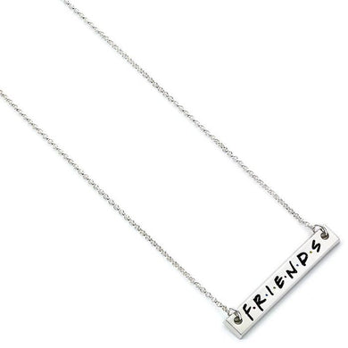 FRIENDS Logo Bar Necklace
