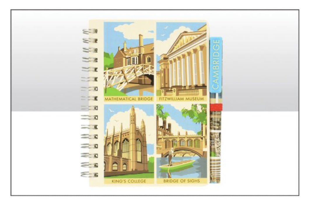 Cambridge Contemporary Notebook and Pen Set