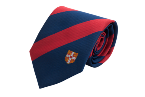Tie Broad Stripe Red