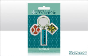 CU Lion/Shield/Bar Keyring