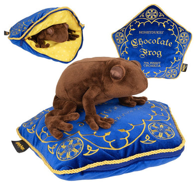 Chocolate Frog Plush and Pillow