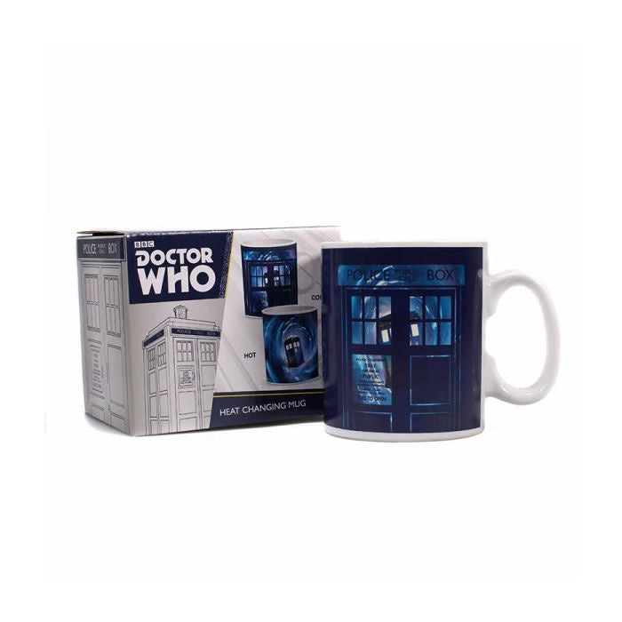 Doctor Who Heat Changing Mug