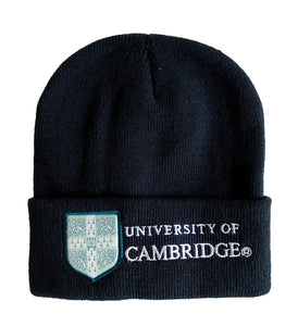 Cambridge University Ski Hat Navy