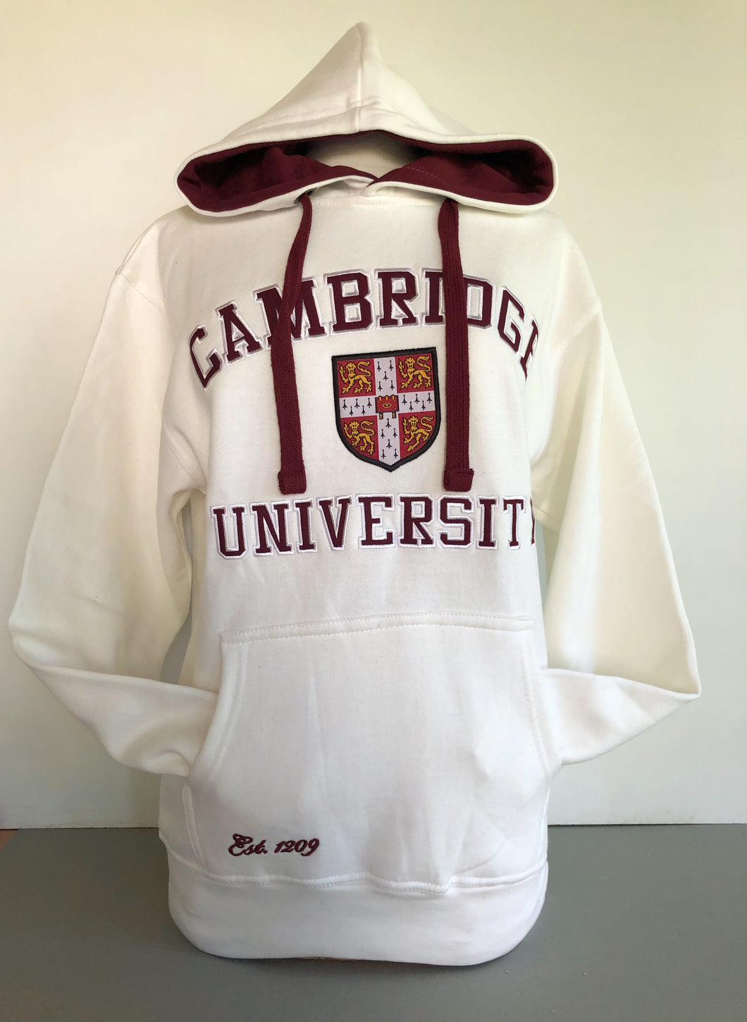 Cambridge University Hoodie Cream