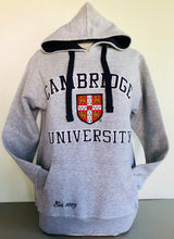 Load image into Gallery viewer, Cambridge University Hoodie Heather Grey