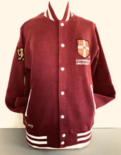 Load image into Gallery viewer, Varsity Jacket Maroon