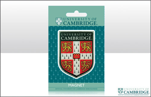 Cambridge University Shield Metal Magnet