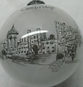 Bauble Cambridge Black & White