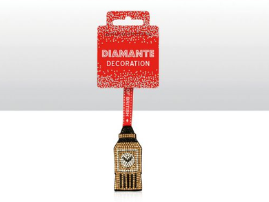 Diamante Decoration Big Ben
