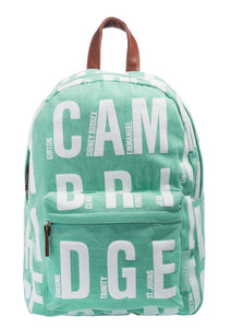 Cambridge Blue Back Pack