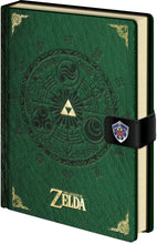 Load image into Gallery viewer, The Legend Of Zelda Medallion A5 Notebook