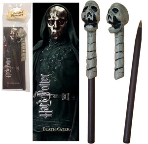 Death Eater Wand Pen & Bookmark