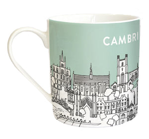 Sketch Cambridge Bone China Mug