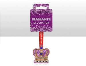 Diamante Decoration Crown