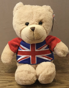 Soft Bear with Union Jack Top