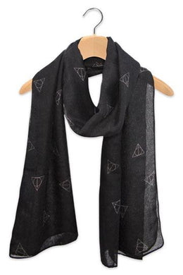 Light Weight Deathly Hallows Scarf