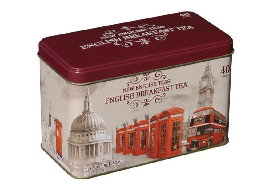 Vintage England Tea Tin