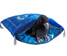 Load image into Gallery viewer, Plush Ravenclaw Cushion with House Mascot
