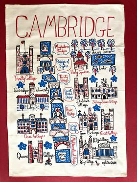 Cambridge Tea Towel Natural
