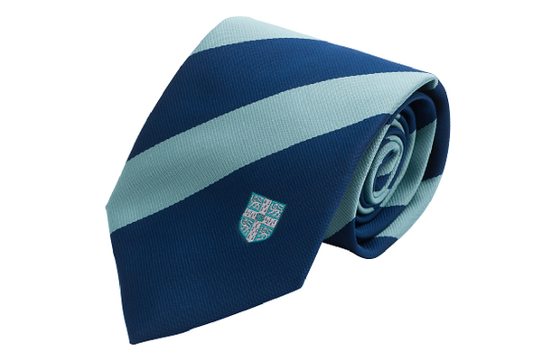 Tie Broad Stripe Blue