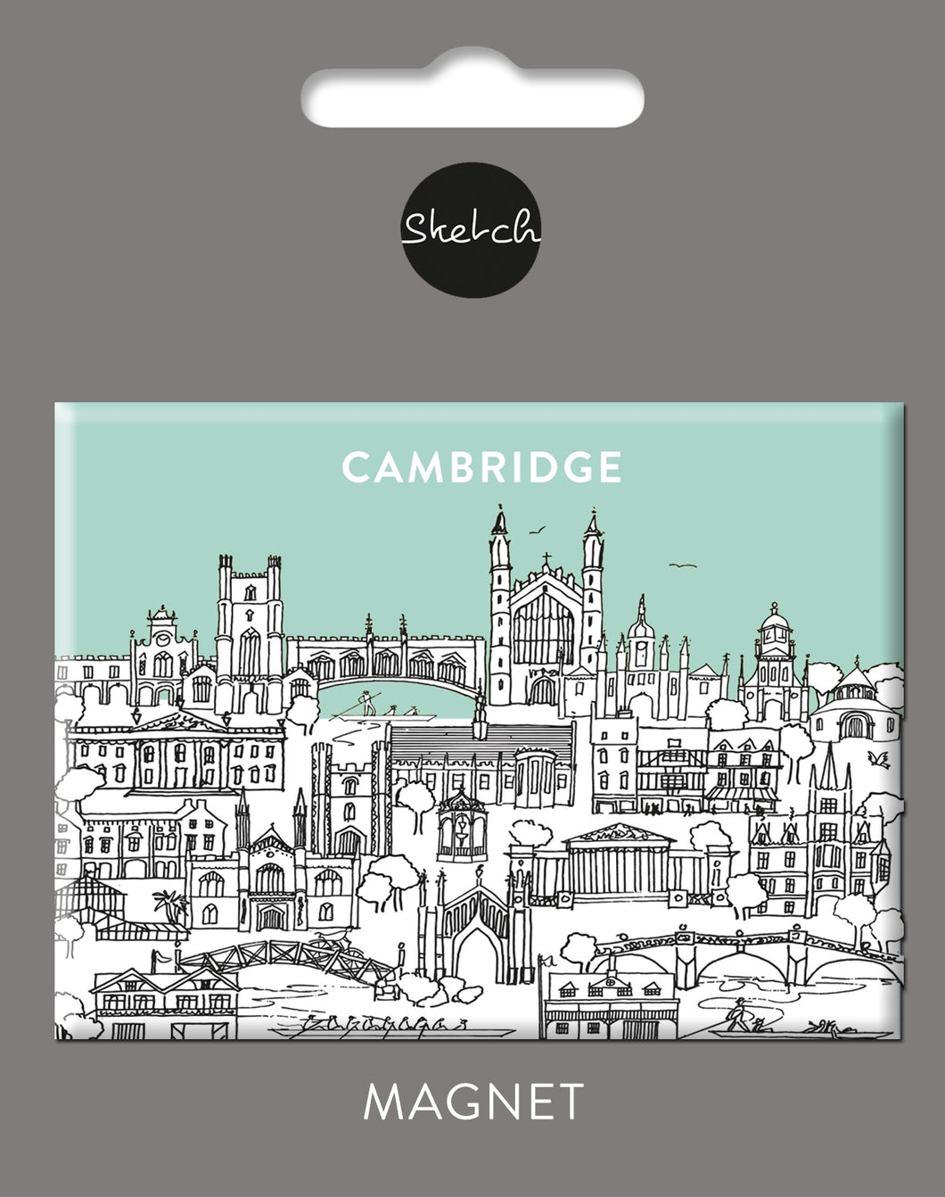 Sketch Cambridge Large Magnet
