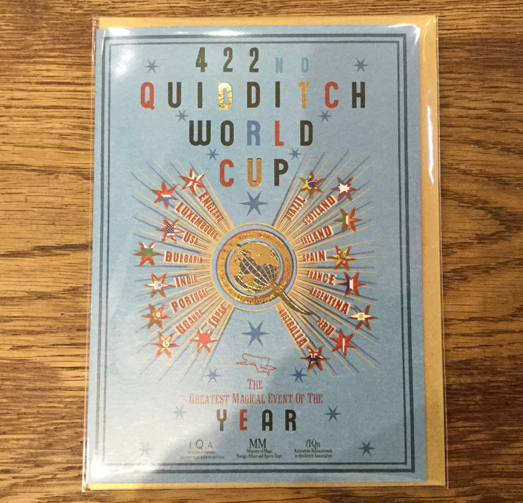 Card Quidditch World Cup