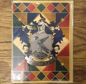 Card House Crest Ravenclaw