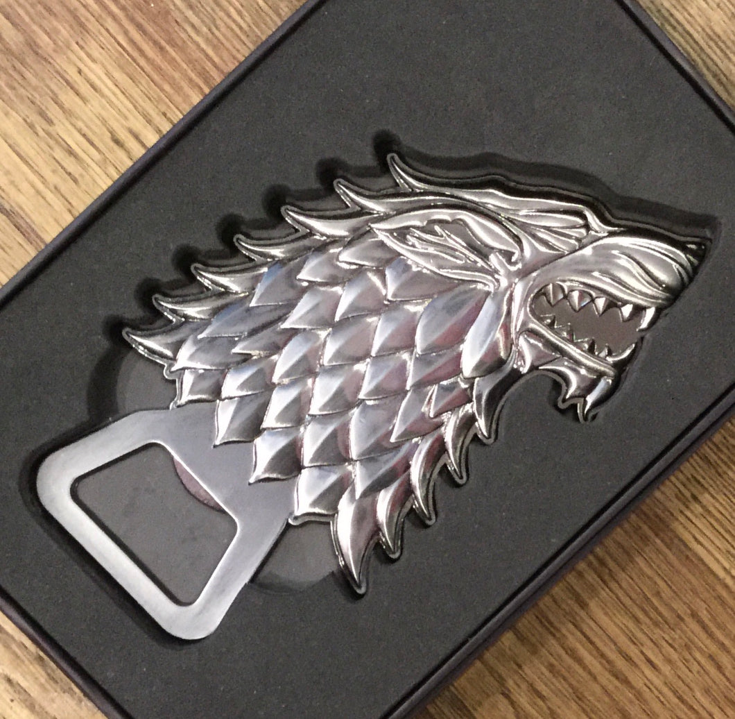 House of Stark Fridge Magnet Bottle Opener