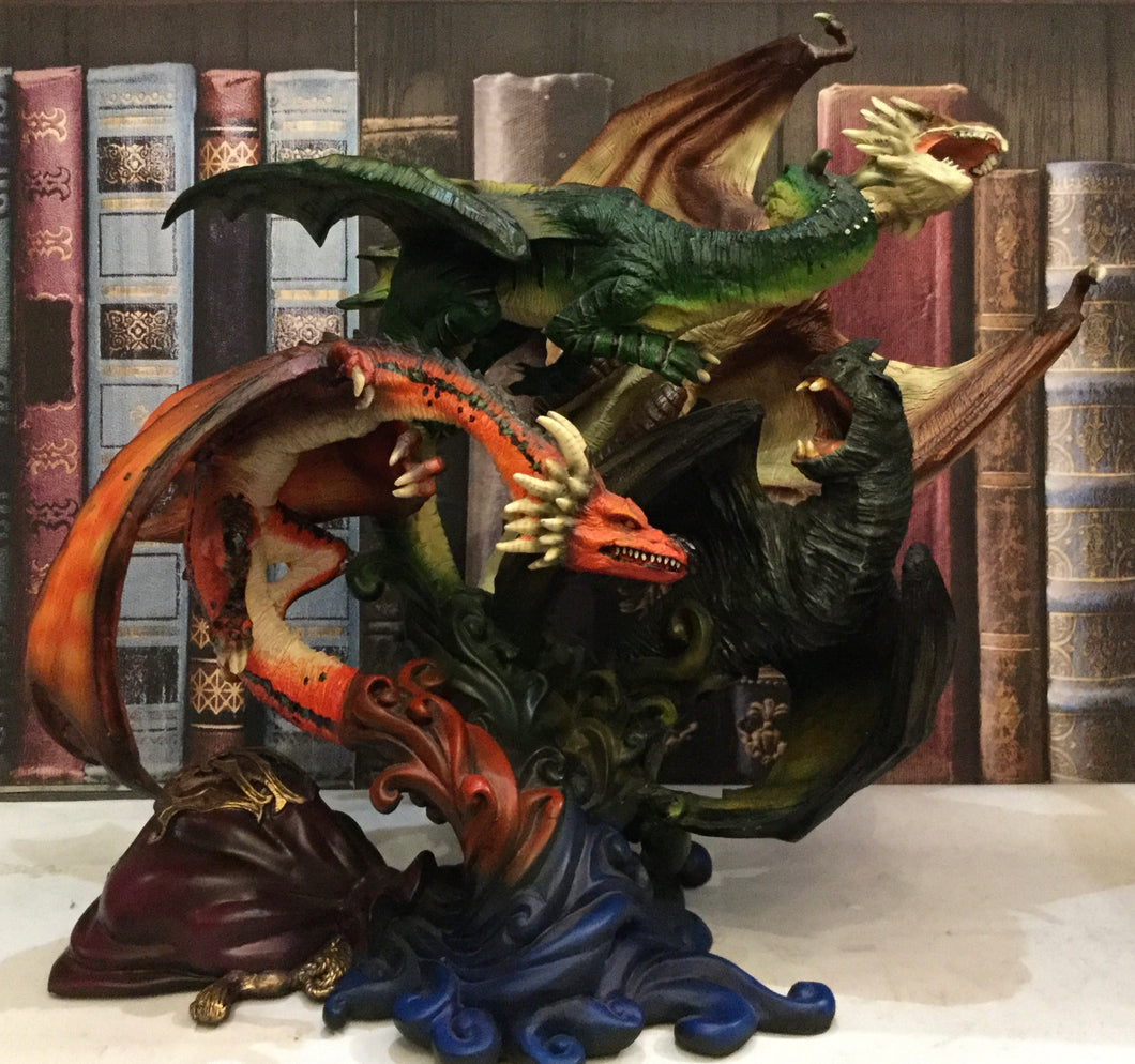 Dragons of the First Task Statue