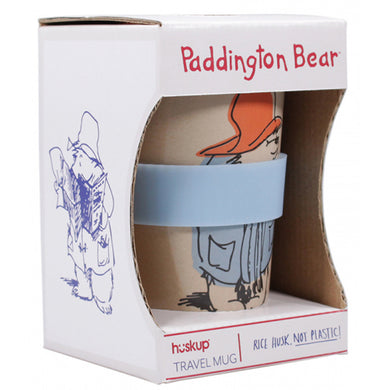 Paddington Bear Rice Husk Travel Mug