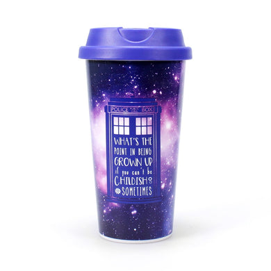 Doctor Who Galaxy Travel Mug