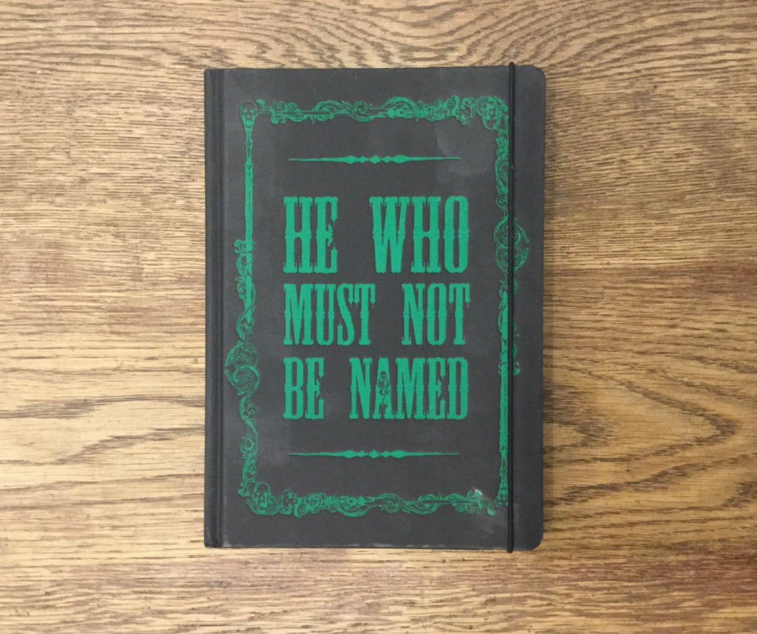 He Who Must Not Be Named A5 Notebook