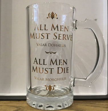 GoT Glass Tankard
