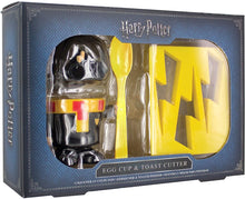 Load image into Gallery viewer, Harry Potter Egg Cup and Toast Cutter