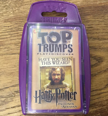 Top Trumps Prisoner of Azkaban