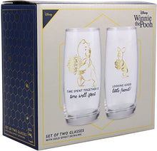 Load image into Gallery viewer, Winnie the Pooh Set Of 2 Glasses