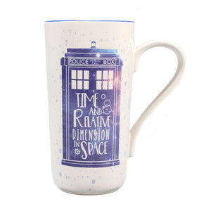 Doctor Who Galaxy Latte Mug