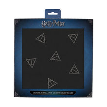 Load image into Gallery viewer, Deathly Hallows Scarf Light Weight Voile