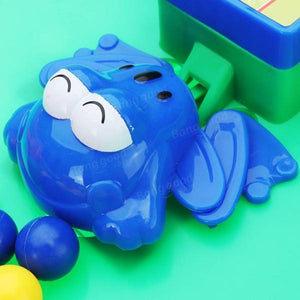 Novelties Toys Crazy Frog Eat Beans For The Ball With Bead Feeding Children Board Game Toy