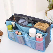 Load image into Gallery viewer, HYKIS Home Large-capacity Travel Organizer Storage Bag Portable Cosmetic Bag Makeup Storage Case