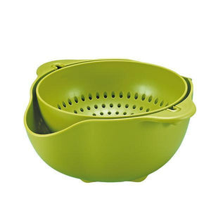 Double Plastic Wash Basket-Kitchen & Dining-skrstar.com-