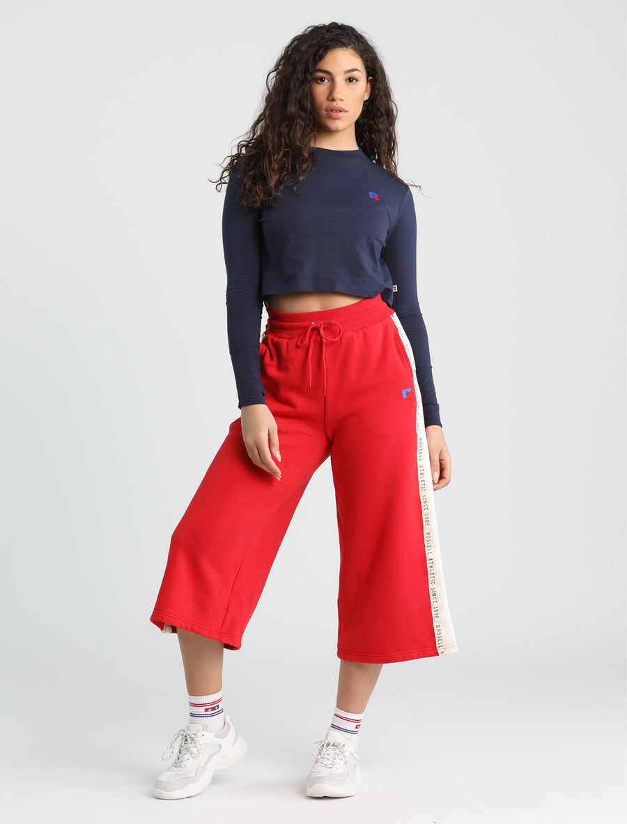 Scarlett Cropped Long Sleeve Tee