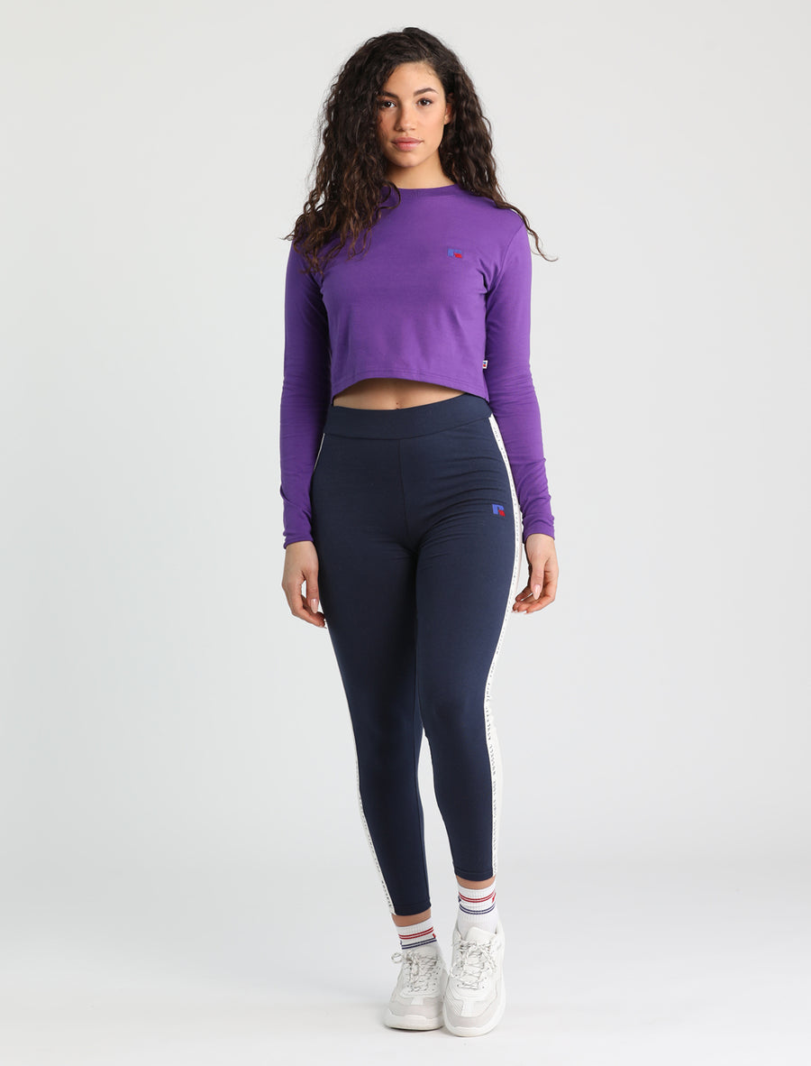 Scarlett Cropped Long Sleeve Tee (4159922667607)