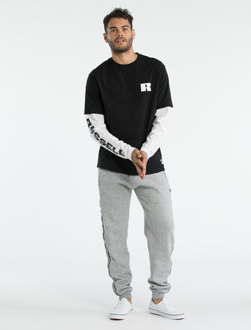 Long Sleeve Contrast T-Shirt