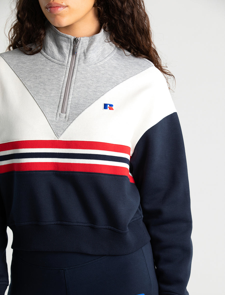 All Season Quarter Zip Sweat