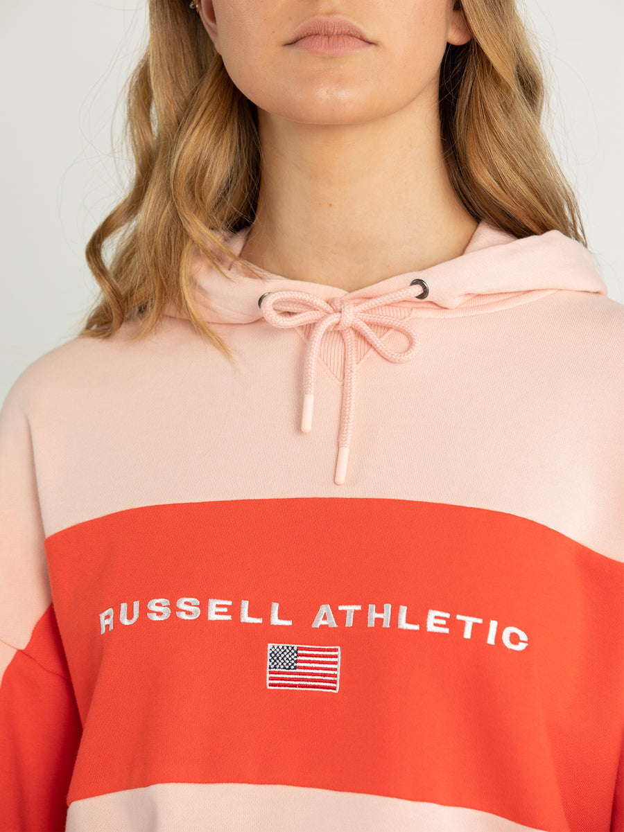 USA Colour Blocked Hoodie